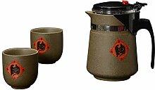Danjia Keramik-Tassen-Tee-Set aus Steingut
