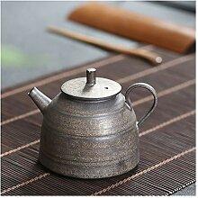 DANJIA Ming Trompetenrand Keramik Teekanne Eisen