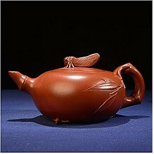 Danjia Moderne Teekanne aus Bambus (Farbe: Braun)
