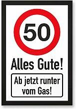 DankeDir! 50 Jahre Alles Gute - Runter vom Gas -