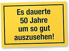 DankeDir! 50 Jahre - Gutes Aussehen, Kunststoff