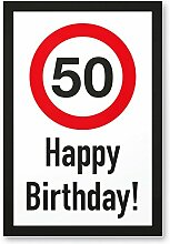 DankeDir! 50 Jahre Happy Birthday Kunststoff
