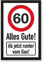 DankeDir! 60 Jahre Alles Gute - Runter vom Gas -
