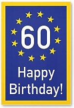 DankeDir! 60 Jahre Happy Birthday - Kunststoff