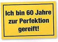 DankeDir! 60 Jahre Perfektion, Kunststoff Schild -