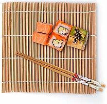 Danolt Sushi-Rollmatte, Bambus, 9-teiliges