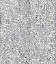 danslemur 2053–4Vliestapete TNT, Zement Textur und Streifen, Lila