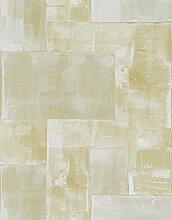 danslemur 2055–3Vliestapete feine Textur Messing, TNT, Gold und Silber