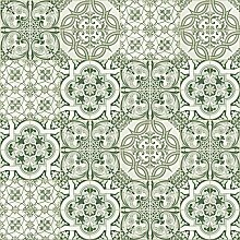 danslemur 825–tnt, Tapete Fliesen Muster, grün