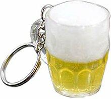 Danzh Schlüsselanhänger Männer Bier Tassen Form