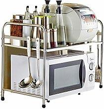 Daozne® Küchenregal Mikrowelle Regal (ein Ablage)