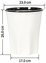 Dapanji Haushalt Abfallbehälter Kunststoff