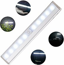Dapenda LED Nachtlichter mit Bewegungsmelder Schrankbeleuchtung Küchenlampe Nachtlicht für Wandschrank, Kabinett, Dachboden, Flur