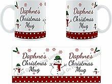Daphne'Weihnachten Becher, Tasse, Keramik,