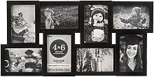 Darice Collage-Bilderrahmen, für 8 Fotos à 10 x