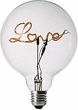 DarkSteve - Love LED Dekorativ Lampe - Edison