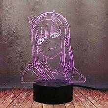 Darling in The FRANXX kreatives Nachtlicht,