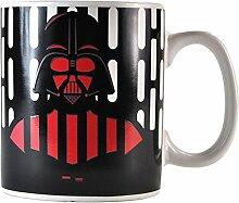 Darth Vader Star Wars Kaffeebecher mit Wärmeeffekt - Darth Vader Star Wars Kaffeetasse Becher Krieg der Sterne Tasse