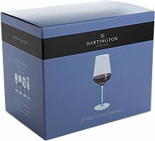Dartington Crystal Weinglas, Einheitsgröße