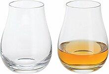 Dartington Crystal Whisky Nosing-Glas Paar,