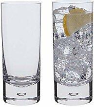 Dartington Dimple Highball-Glas, Transparent,