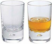 Dartington Exmoor-Shot-Glas, transparent, 2Stück