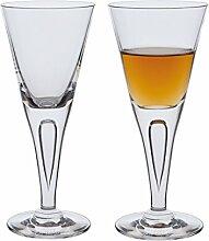 Dartington Sharon Sherry-Glas, transparent,