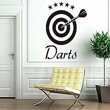 Darts Aufkleber Home Aufkleber Ziel Sport