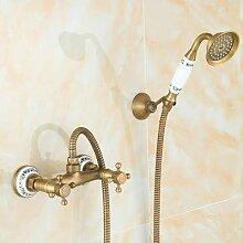 Das Duschset in Kupfer Duschset Dusche Armaturen