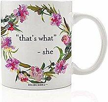 das ist was kaffeetasse feminin pink floral