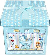 Das Kostümland Baby Shower Party Geschenkbox -
