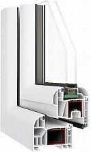 Das Kunststoff-Fenster im Profil Ovlo - 6-Kammer