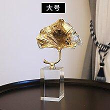 Das Kupfer Crystal Ornamente Home Einrichtung Einrichtung Modern Creative Basteln Dekoration Einfache Wohnzimmer Arbeitszimmer, Tuba