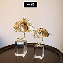 Das Kupfer Crystal Ornamente Home Einrichtung Einrichtung Modern Creative Basteln Dekoration Einfache Wohnzimmer Arbeitszimmer, Ein Paar
