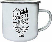 Das Leben beginnt am Ende deiner Komfortzone