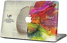 """Das linke und rechte Gehirn Abziehbild/Vinyl Haut Aufkleber/Abdeckung Abziehbild des Macbook für das Apple Macbook (13.3"""" Pro with Retina)"""