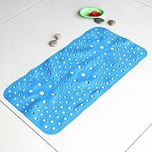 Das massieren Badematte Badezimmer Badewanne Dusche Badewanne Matten Matten 35 x 65 cm, 35 x 65 cm - blau