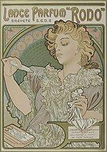 Das Museum Outlet–Alfons Mucha Lance Parfum Rodo 1896–97, gespannte Leinwand Galerie verpackt. 96,5x 121,9cm