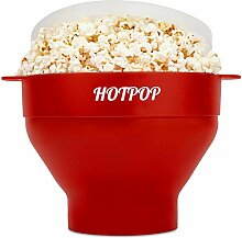Das Original Hotpop Mikrowellen-Popcorn-Popper,