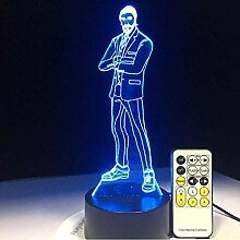 Das Reaper Skins Spiel 3D Led Lampe Arylic Panel
