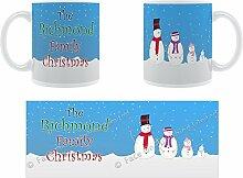 Das Richmond Weihnachten-Schneemann Family
