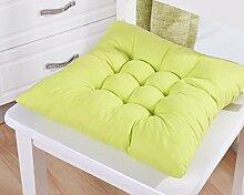 Das Sitzpolster auf den Computer im Büro Stuhl Esstisch und Sitzkissen Sitzkissen 45 * 45 cm (kann von anderen Größen gemacht werden), grün