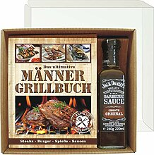 Das ultimative Männer Grillbuch Profi Set's