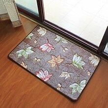 Das Wohnzimmer Schlafzimmer Staub Matten Füße Küche Wasseraufnahme, 60 × 90 cm, B Anti-Slip