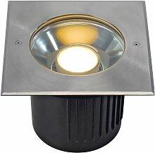 Dasar Modul LED Bodeneinbaustrahler eckig