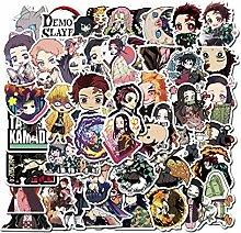 DASHUAI 100 Stück Anime Aufkleber Wasserdichter