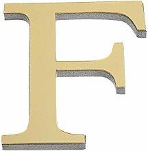 DASHUAI 1Pcs 26 Englisch Buchstaben DIY 3D Spiegel
