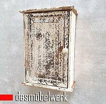 dasmöbelwerk Deko Regal Wandregal Vintage Landhaus Wandschrank Antikbraun 13.188.02