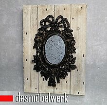 dasmöbelwerk Lisbeth Dahl Deko Wandspiegel Antik Spiegel Holzplanken Vintage Barock Landhaus