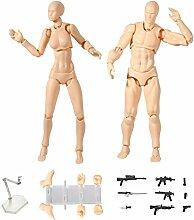 Dastrues Action Figuren Modell,2 Stück/Set